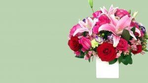 arreglo de flores enamorados